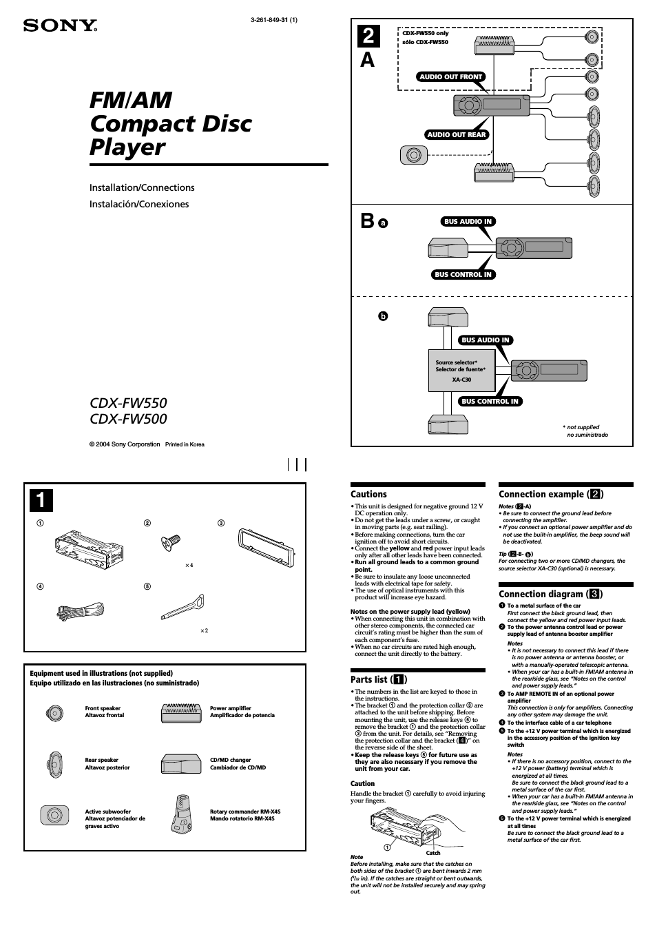 User Manuals For Car Cd